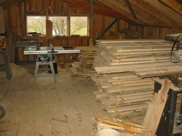 how to clean rough cut wood