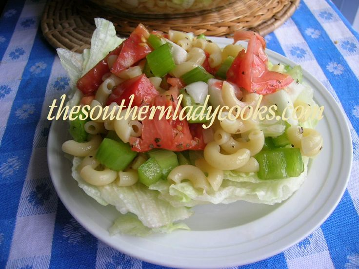 GARDEN PASTA SALAD | Good food, Good life | Pinterest