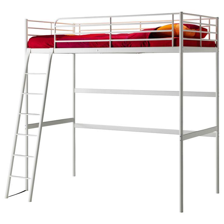 TROMSÖ Loft bed frame Twin IKEA