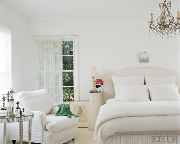All White Bedroom Home Decor Pinterest