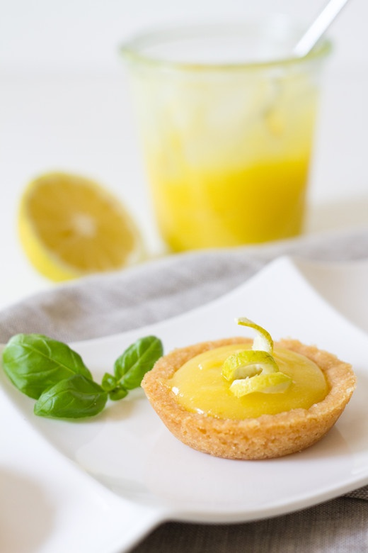Lemon Curd Tarts by Fig and Honey | Curds No Whey | Pinterest