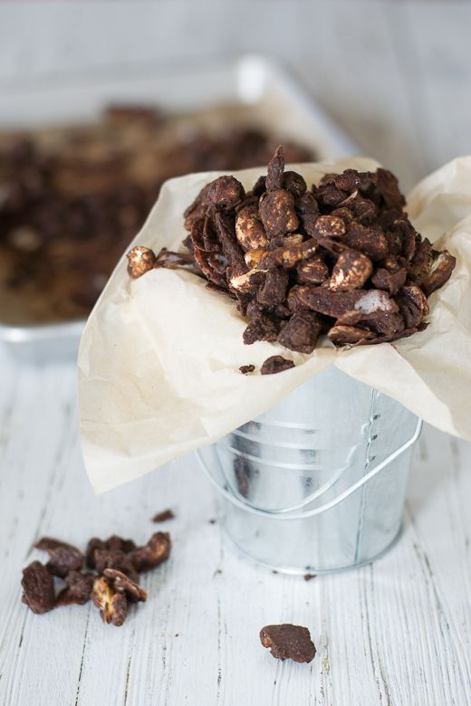 Chocolate Covered Nuts & Coconut Bits from Kitchen to Nirvana. Vegan ...