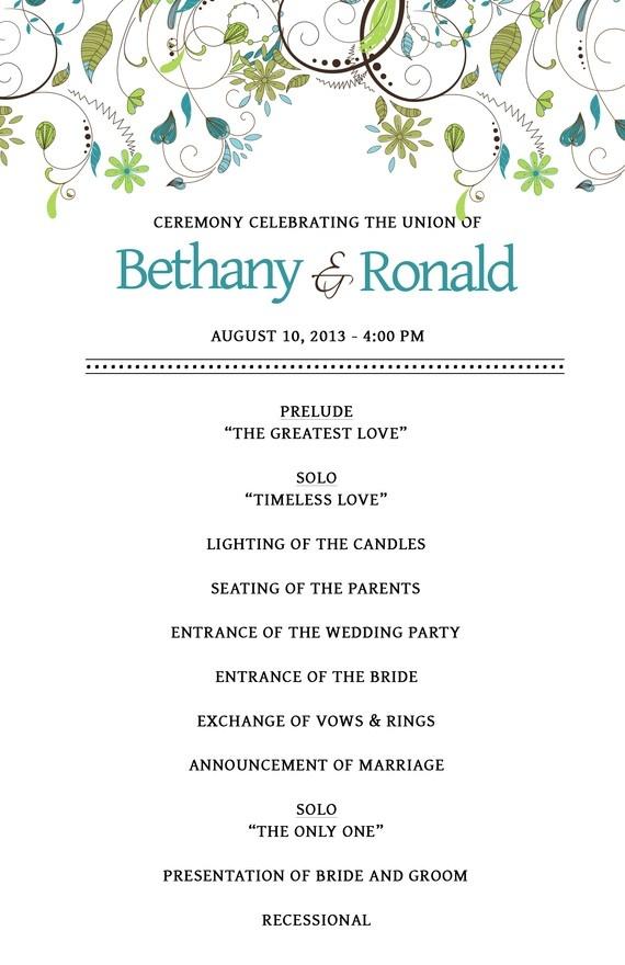 wedding template itinerary en cn wedding pinterest