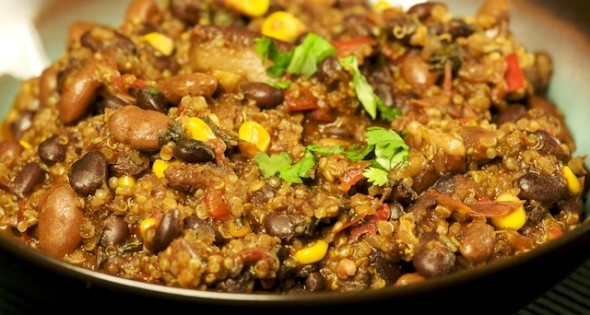 Red Bean Quinoa Chili | Yummy Goodness | Pinterest