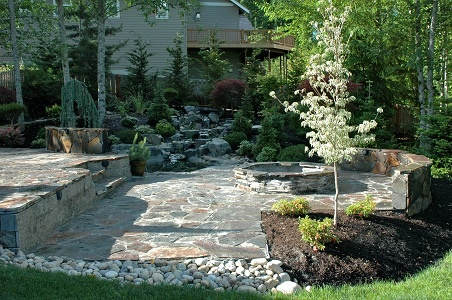 Landscaping Around Fire Pit Fire Pit Ideas Pinterest