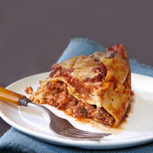 Slow-Cooker Lasagna | Crock Pot. | Pinterest