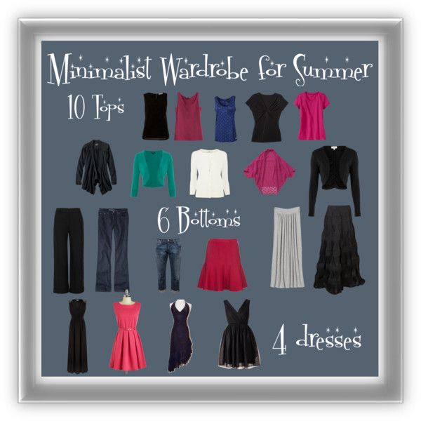 Minimalist Summer Wardrobe For Women