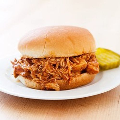 Slow-cooker pulled chicken sandwiches | Halloween | Pinterest