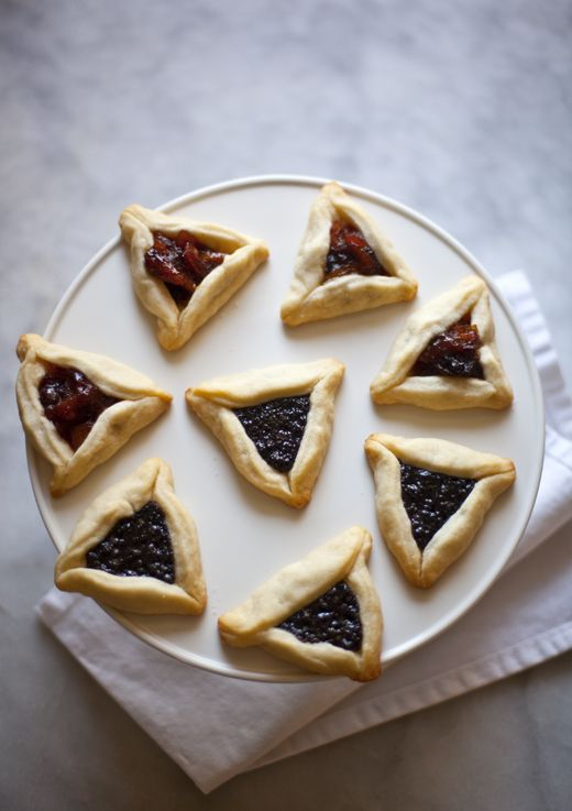 Hamantaschen | ZoeBakes.com (This would be a perfect way to use up the ...