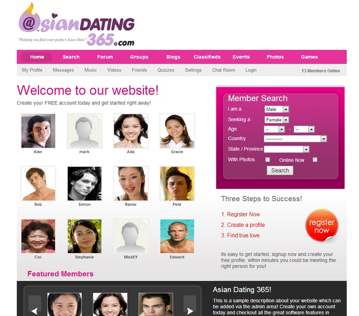Top asian dating websites
