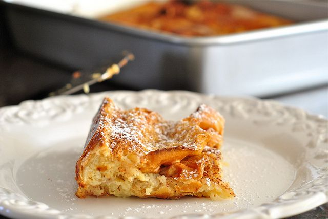 boozy baked french toast by The Red Spoon, via Flickr