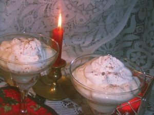 Eggnog Mousse | Healthy Recipes | Pinterest