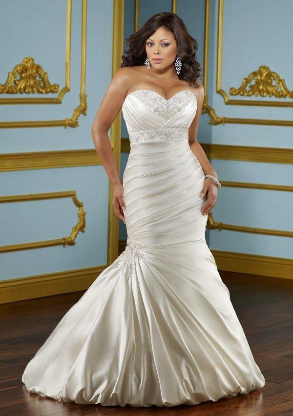 Plus Size Wedding Dresses Mori Lee : Plus size wedding dresses from julietta by mori lee find more like