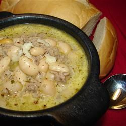 White Chili with Ground Turkey - Surprisingly some of the best chili I ...