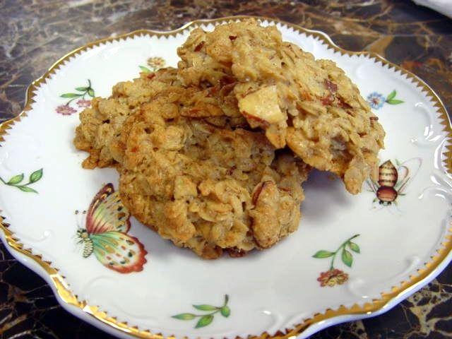 Oatmeal Almond Crisps sugar free | Recipe