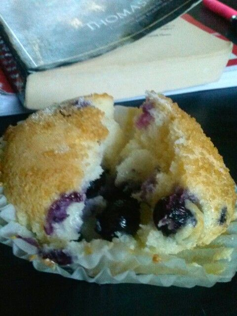 Sour Cream Blueberry Muffins | CARI'S KITCHEN (my culinary creations ...