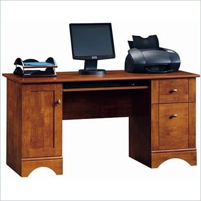Sauder Brushed Maple - this is my desk for my new office. Can't wait