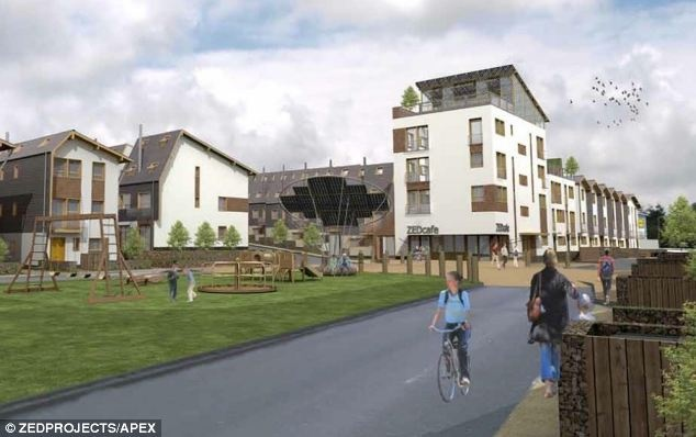 The House That Keeps Paying Back Eco Homes On New Estate