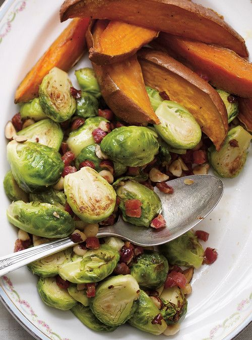 Sautéed Brussels Sprouts with Pancetta and Hazelnuts Recipes ...