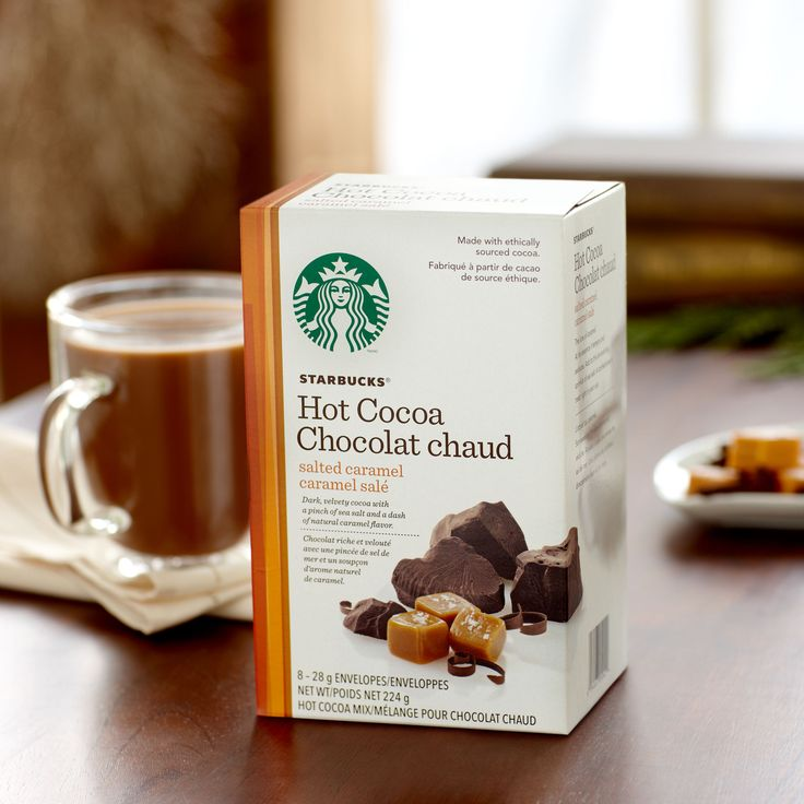 Starbucks® Salted Caramel Hot Cocoa Mix | Edible Goodies | Pinterest