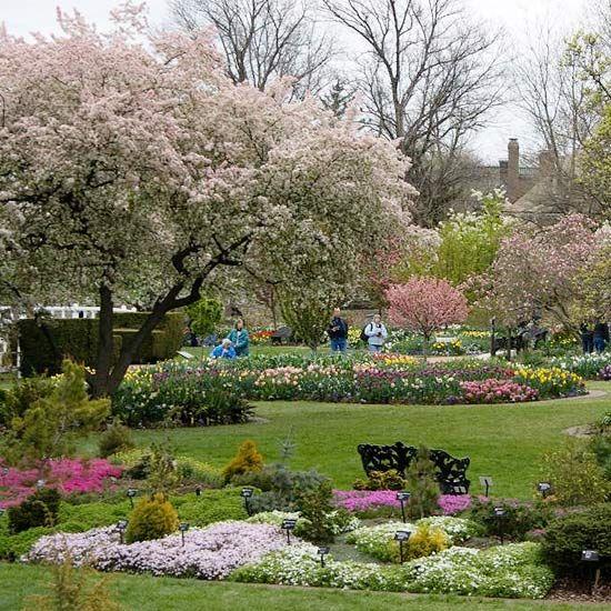 Landscaping ideas from the missouri botanic garden for Botanical garden designs
