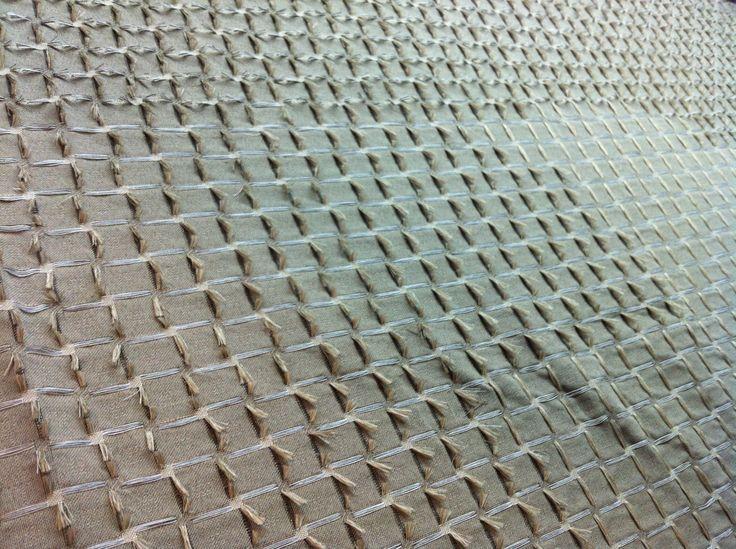 Textil semi industrial. Proceso de corte. Diseño de Cristina Orozco, todos los derechos reservados. Semi industrial fabric. Cutting Process. Cristina Orozco, all rights reserved.