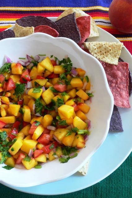 peach salsa | Peaches | Pinterest