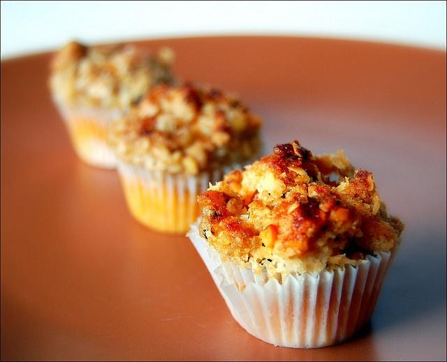 Sweet Potato Orange Blossom mini-muffins | :: no bones about it ...