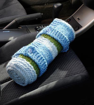 car blanket - easy pattern Knitting Pinterest
