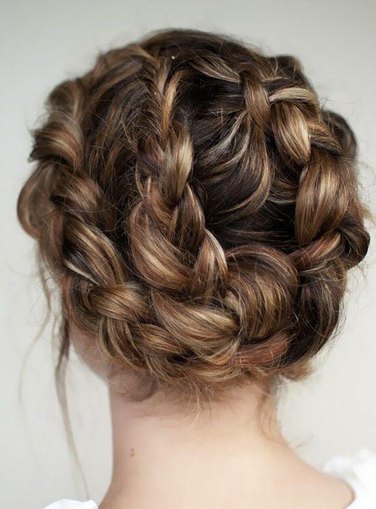 twisted bun | Hair raising ideas | Pinterest