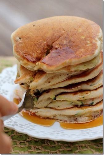 Fluffy Summer Vegetable Pancakes | Sweet Stuff | Pinterest
