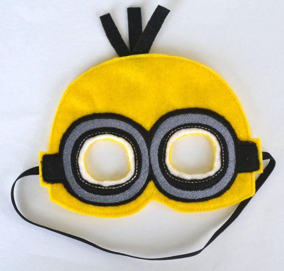Minion mask keche pinterest