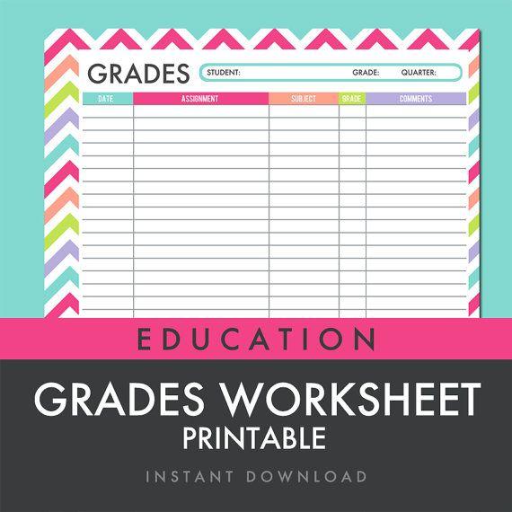 Genius image with regard to free printable gradebook