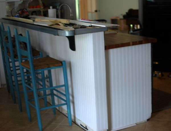 DIY Raise The Bar Cabinet Or Island Kitchen Breakfast Bar Pinterest