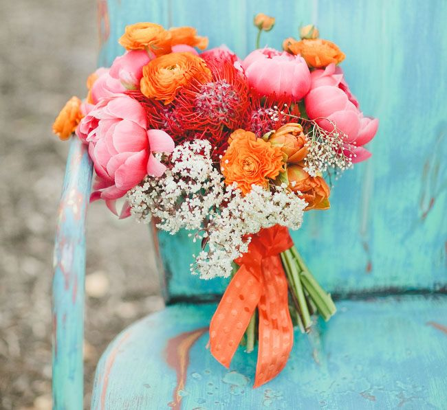 Orange Crush Wedding Inspiration