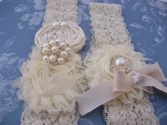 Vintage Bridal Garter 28