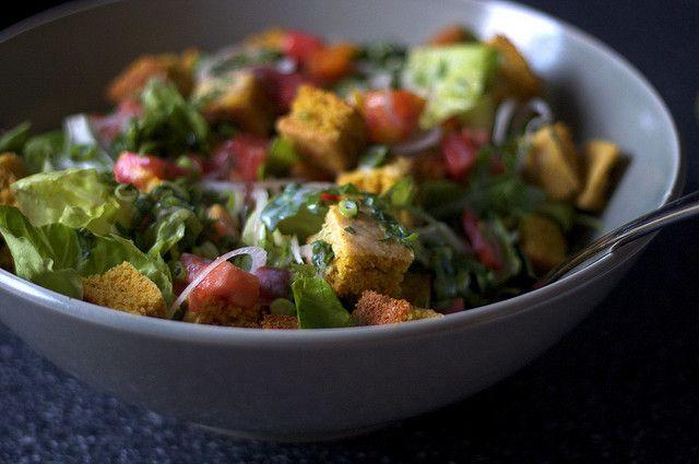 corn bread salad   Futter: Smitten Kitchen Recipes   Pinterest