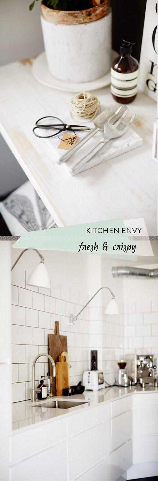Keuken Scandinavische Stijl : Keuken Inspiratie Scandinavische stijl Kitchens with Kick Pinte