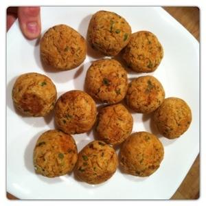 Falafel with Tzatziki Sauce | Recipe Box | Pinterest