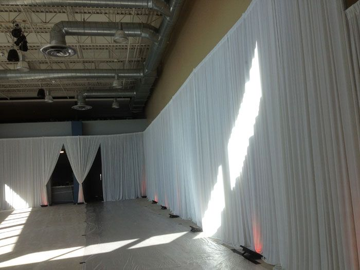 Wedding event supplies pipe and drape fabric backdrop decoration