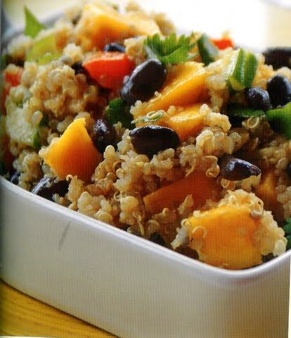 pudding with mango curried quinoa salad with mango recipes dishmaps ...