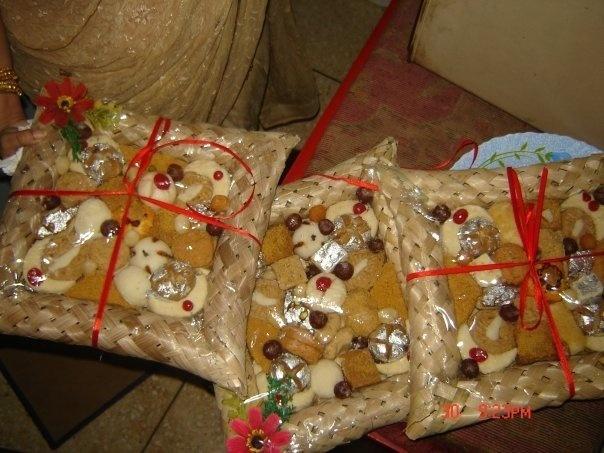 Bangladeshi sweets as a gift Bengali Wedding Ideas Pinterest