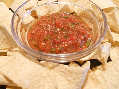 super simple salsa | Appetizers and Snacks | Pinterest