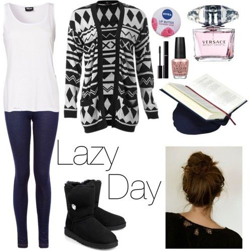 Lazy Day Outfit Comfy Outfit | Ufe0fFASHION Ufe0f | Pinterest