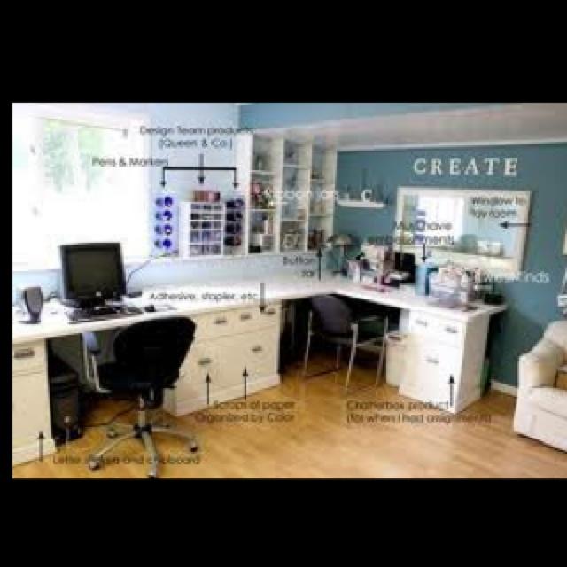 Ultimate craft room! | Dream home ideas | Pinterest 640 x 640