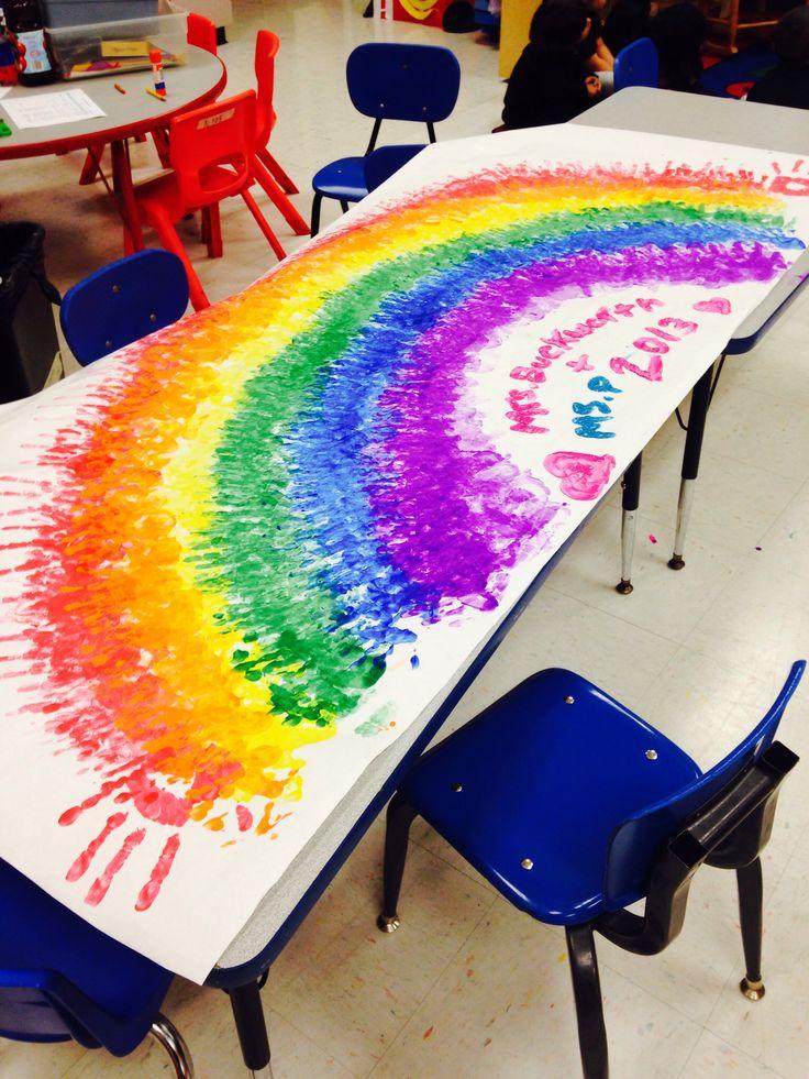 Color preschool theme
