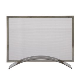 modern fireplace screen minimalist elegance pinterest