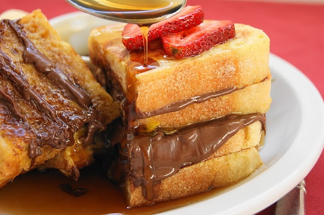 Nutella french toast *drooling* | Holy Calories! | Pinterest