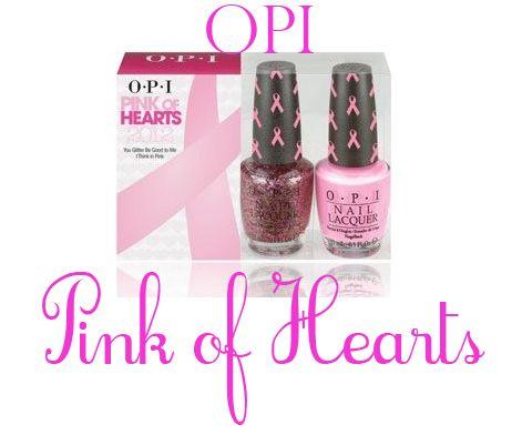 OPI Pink of Hearts set  2012 Opi Pink Of Hearts 2012