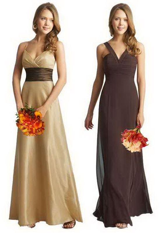 Fall bridesmaid dresses wedding ideas pinterest for October wedding bridesmaid dresses